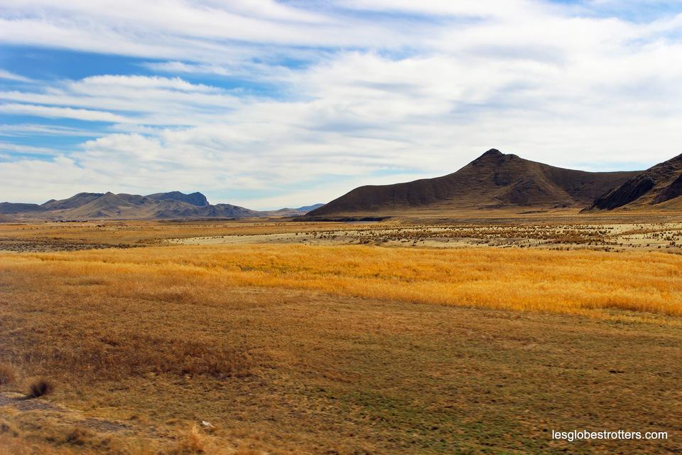Les beaux paysages de l'Altiplano