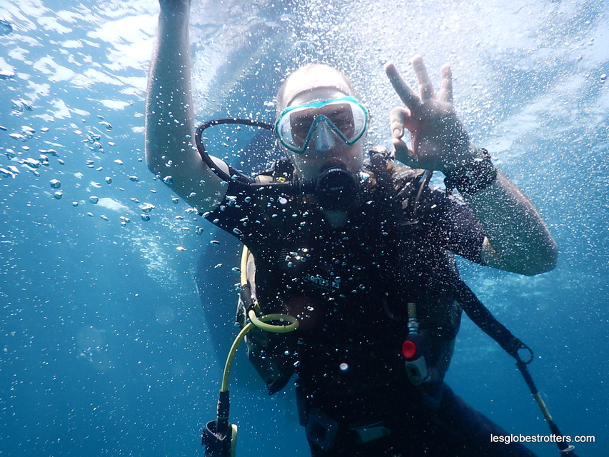 Plongée sous marine en Inde