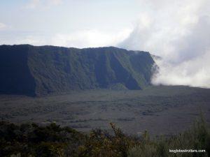 Vue de l'enclos du Volcan