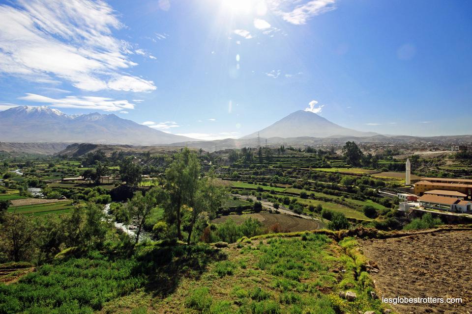 Belle visite de la ville d'Arequipa