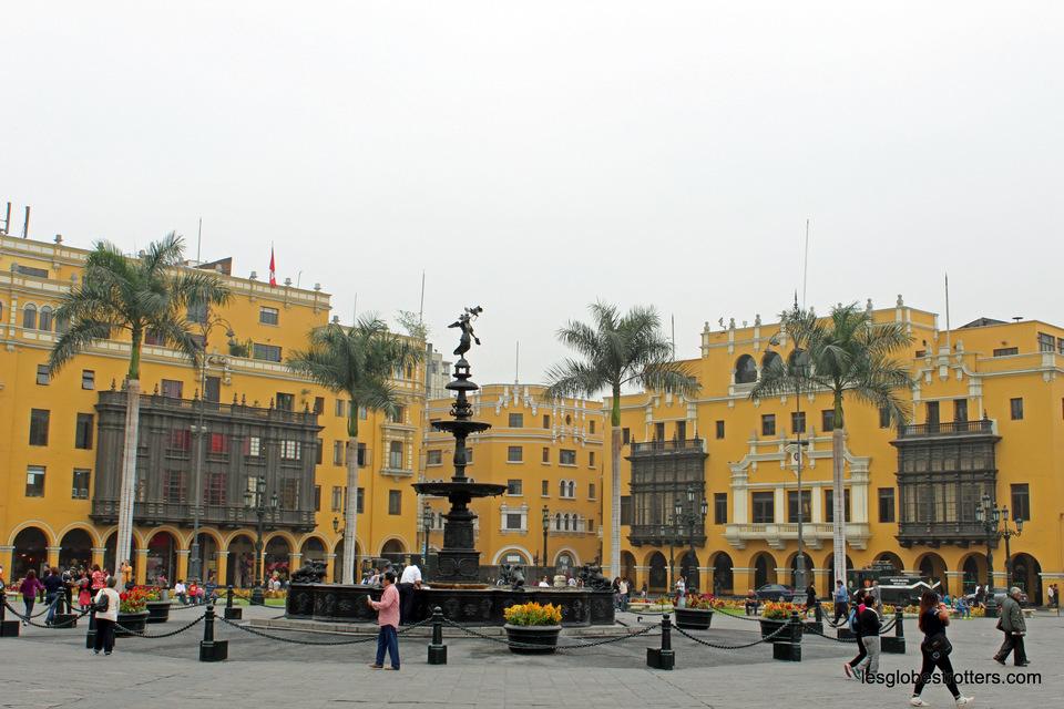 Longue journée de voyage direction de Lima