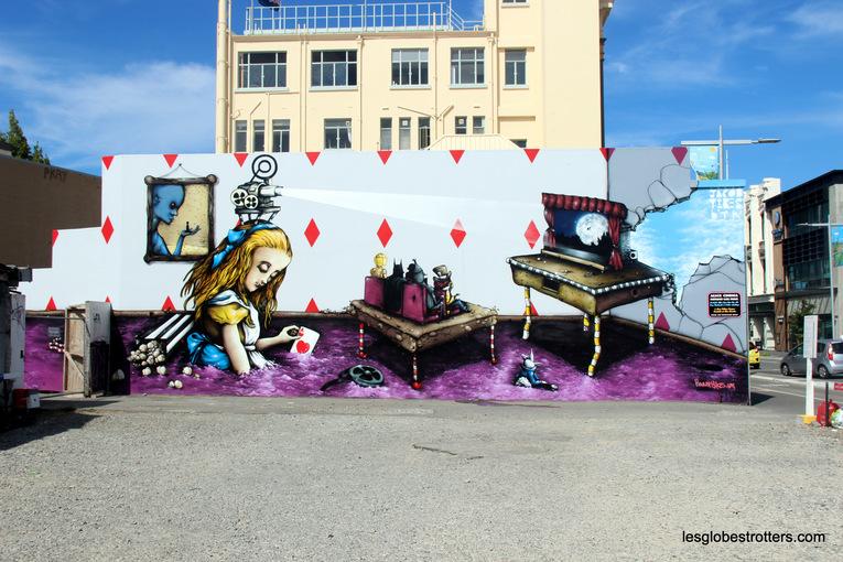 Le Street Art en Nouvelle-Zélande