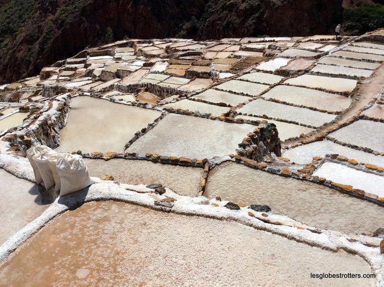Petite pause dans la vallée sacrée : les salines de Maras